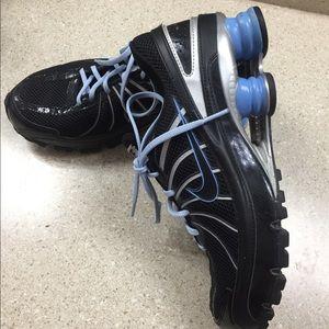 Nike Shox black/blue Women's size 10